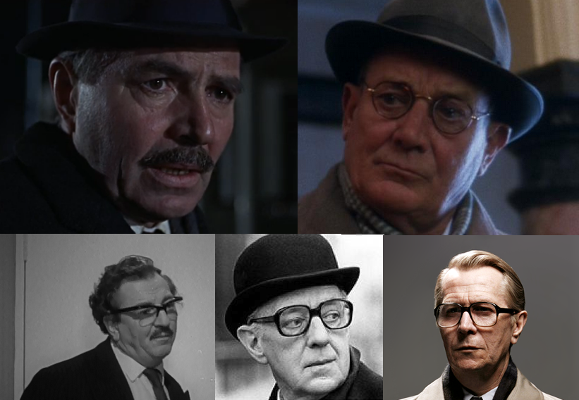 Five onscreen versions of George Smiley